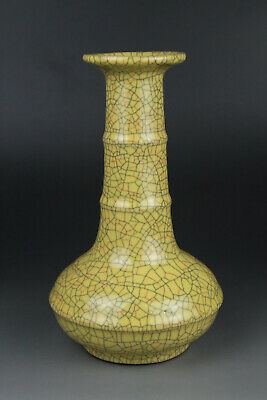 A Fine Collection of Chinese 12thC Song Ge Ware Porcelain Vases