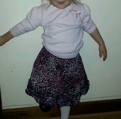 Sarah Louise skirt and jumper set age 7
