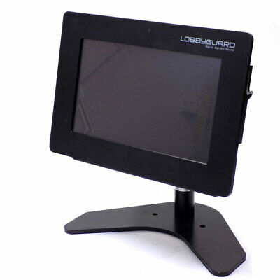 Pitney Bowes LobbyGuard Scout Visitor Managment Kiosk w/ Win 10 Pro & Stand