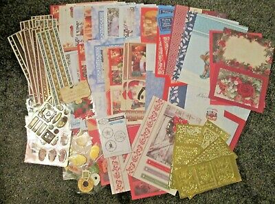 Christmas Card Making / Craft Bundle 2 Craft Room Clear Out