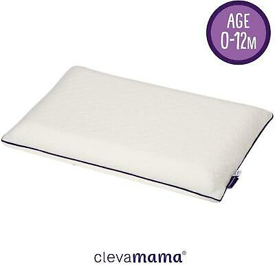 Clevamama Foam Baby Pillow ClevaFoam White