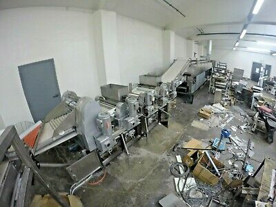 Bakery Equipment / Full Conveyor Line For Lavash And Other Breads / Big Mixer