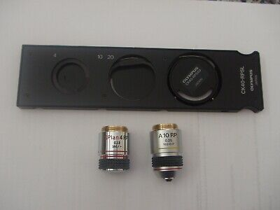 Relief Phase Contrast Set For Olympus CK40 Microscope