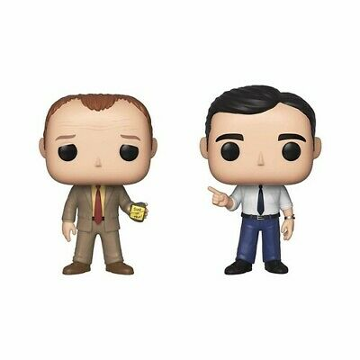 Funko Pop! Television: - The Office - Toby & Michael 2pk 889698419178 (Toy Used)