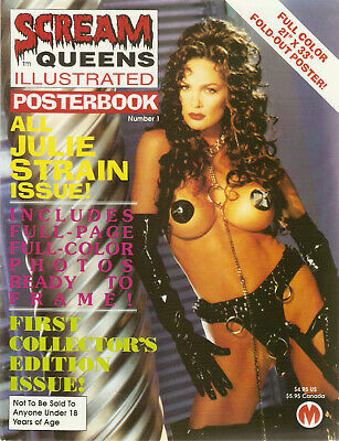 Scream Queens Illustrated Posterbook 1 All Julie Strain Issue Poster