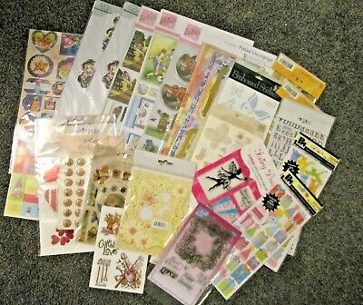 Craft Room Clear Out Stamps Embellishments Bundle Job Lot