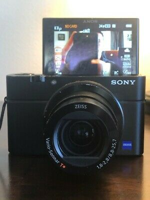 Sony DSC-RX100 III - Leather Grip - Extra Battery - Perfect Lens