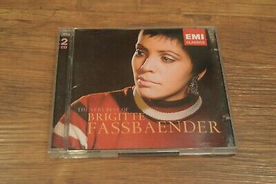 Very Best of Brigitte Fassbaender (2005) 2 x CD VGC Free UK Delivery