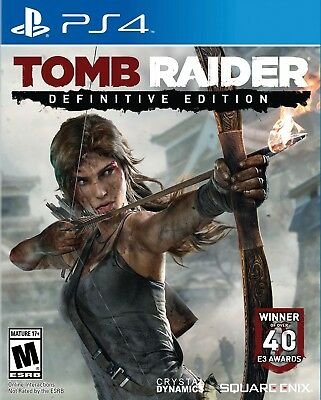 TOMB RAIDER DEFINITIVE EDITION PS4 Game PlayStation 4 PAL Fast Post UK