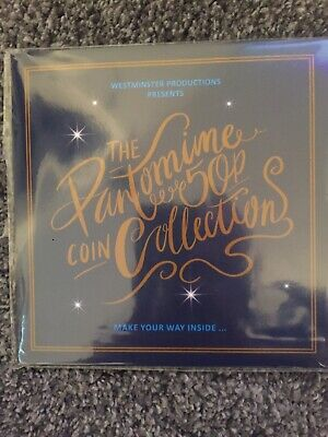 2019 the christmas pantomime 50p coin set Brand New And Sealed