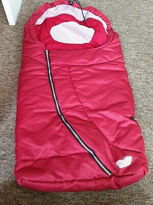 Bebe Confort red cosy toes foot muff