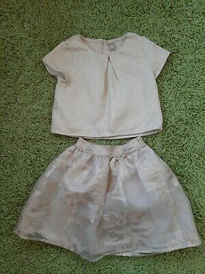 Girls Gold Party Outfit ,Age 6 Tu
