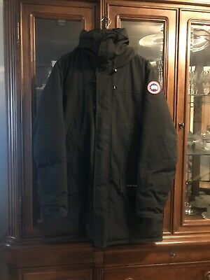Authentic Canada Goose Langford Parka Black Men's Extra Large USED PRE-OWNED