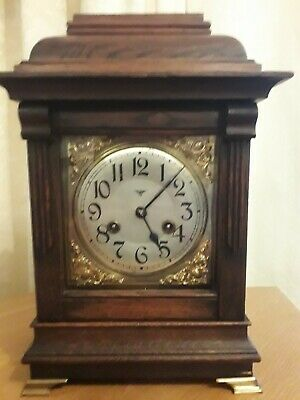 Early 1900's Bracket Clock made by  Friedrich Mauthe Schwenningen