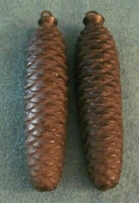 Two Large Cuckoo Coo Coo Clock Weights - 1 lb, 15 oz each - For Clock Repair