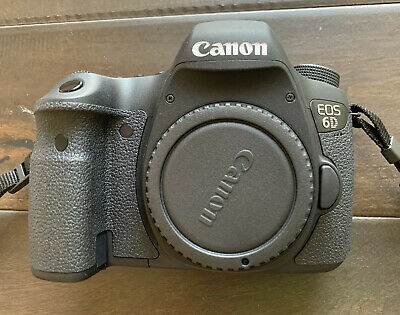 Canon EOS 6D 20.2MP Digital SLR Camera - Black (Body Only) 8035B002 Excellent!