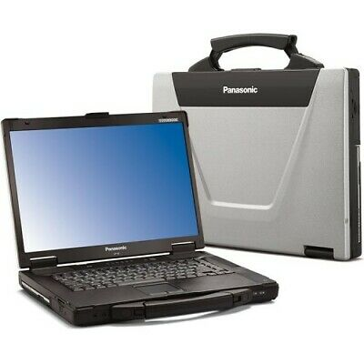 Panasonic Toughbook Laptop CF52 MK3 Intel Core i5 @2.40 GHz 8GB 500GB Win 10/7