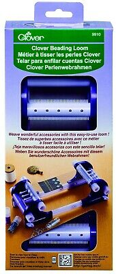 Brand New! Clover 9910 Beading Loom - jewelry making (weave bracelets, necklaces