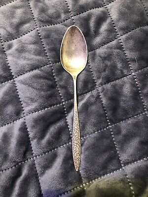 """Sterling Wallace SPANISH LACE DESSERT SPOON  7"""""""