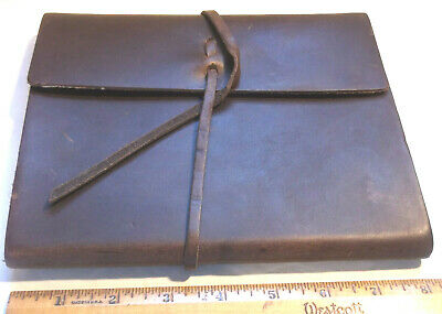 Rustic Genuine Leather  Sketchbook Journal Diary  Handmade Blank Scratches