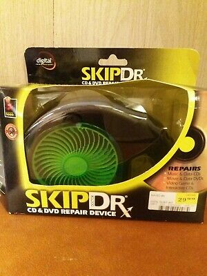 SkipDr DVD and CD Repair Device System Digital Innovations Used