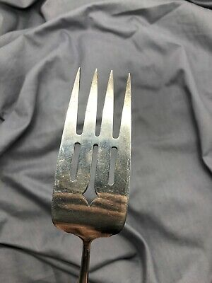 """Multi Piece Towle Sterling Silver Madeira Cold Meat Serving Fork 66g 8-1/8"""""""
