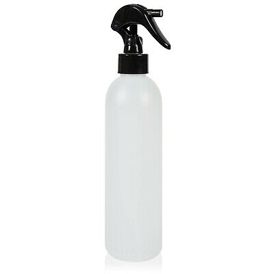 SHANY Plastic Bottle with Black Mini Trigger Sprayer - 8OZ