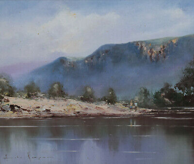 Australian School ~ Splendid Original Oil Painting ~  Burragorang Valley, Nsw