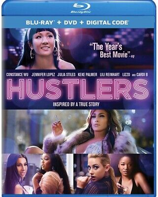 Hustlers Blu-Ray Only 2019 Preorder Ships 12/10/19