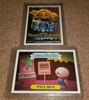 NYCC 2019 Topps Garbage Pail Kids Trading Card Exclusives Limited Edition GPK