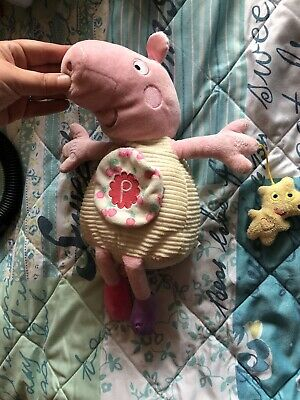 My First Peppa Pig Activity Toy Pink Girls Edition Plush Baby Toy