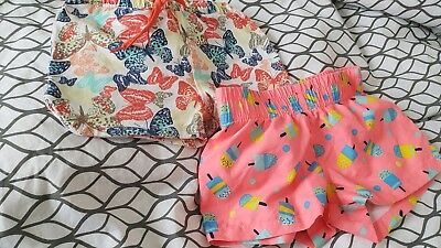 Girl Summer Shorts short trousers Small Bundle Pepco M&co 3-4 Years
