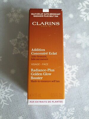 Clarins Radiance-Plus Golden Glow Booster For Face 15ml ⚡Fast Dispatch UK Seller