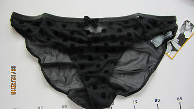 Job Lot  X 5  See Through Panties Knickers  Size  14