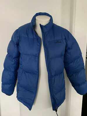Blue Kathmandu Kids 550 Down Puffer Jacket - Size Large 9-12 years - Exc Cond