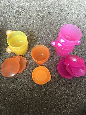 Baby Food Pots With Lids