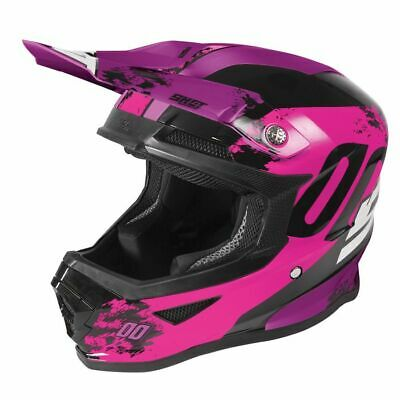2020 Shot Furious MX Helmet Kids - Shadow Neon Pink Glossy