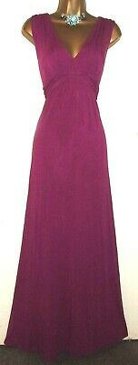 💝Beautiful Phase Eight Magenta Pink Long Evening Party Occasion Dress Uk 16