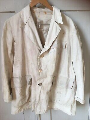 1930s French Hunting Chore Jacket