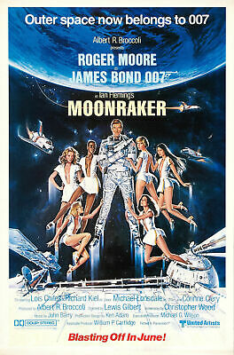 Moonraker 4 Movie Poster Canvas Picture Art Wall Decore