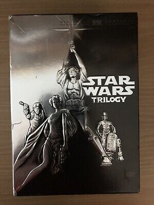 Star Wars Trilogy - A New Hope / Empire Strikes Back / Return Of The Jedi (DVD)