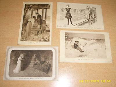 Gibson Girls - Collection Of Vintage Postcards