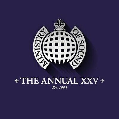 Annual XXV - Ministry of Sound - New 3CD Album
