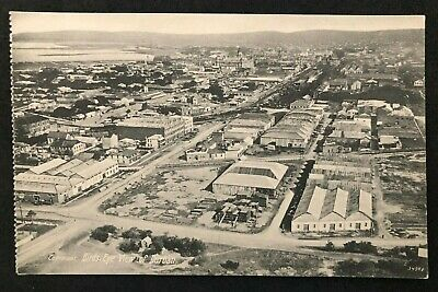 postcard South Africa Birds Eye View of durban  Unused Suid Afrika