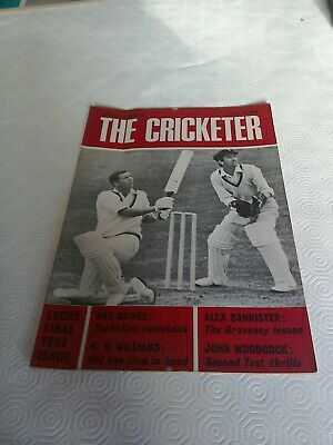 The Cricketer July 11 1969
