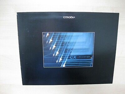 Citroen CX Prestige brochure Prospekt Dutch text 8 pages 1976