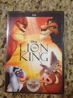 The Lion King (DVD, 2017)NEW Authentic US Release
