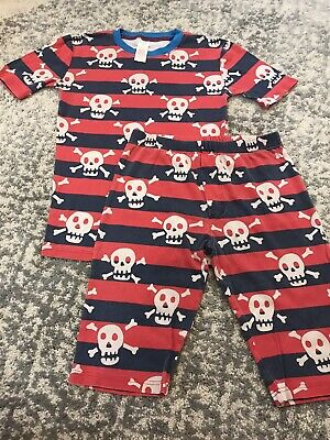 Mini Boden Skull Pyjamas Age 14 Yrs / Fit 11-12