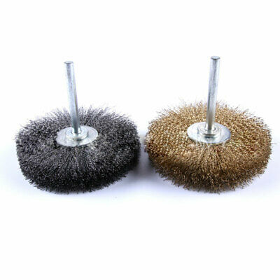 Polishing Wire Brush Pencil Cup Brush Shank Rotary Tool For 6MM Drill Rust Weld
