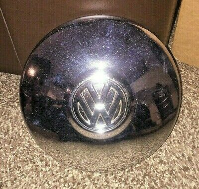"Rare Vintage Volkswagen VW Camper - Chrome Wheel Cap / Trim - 10"" - Free UK Post"